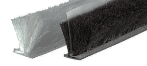 WeatherFin Brush Type draught seals.