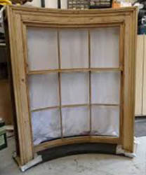 Bowed Sash Window - 3 over 6