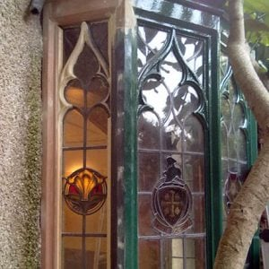Repair Gothic Bay Window. - Parsonage Gardens, Didsbury, Manchester - Sash Window Specialist North West UK