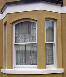 Double Hung Sliding Sash Window.
