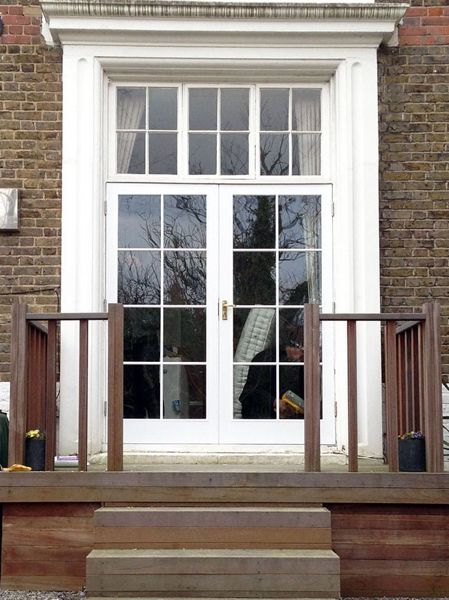 Double Glazed Heritage Doors.