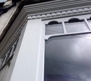 Double Glazed Wooden Sash Window.