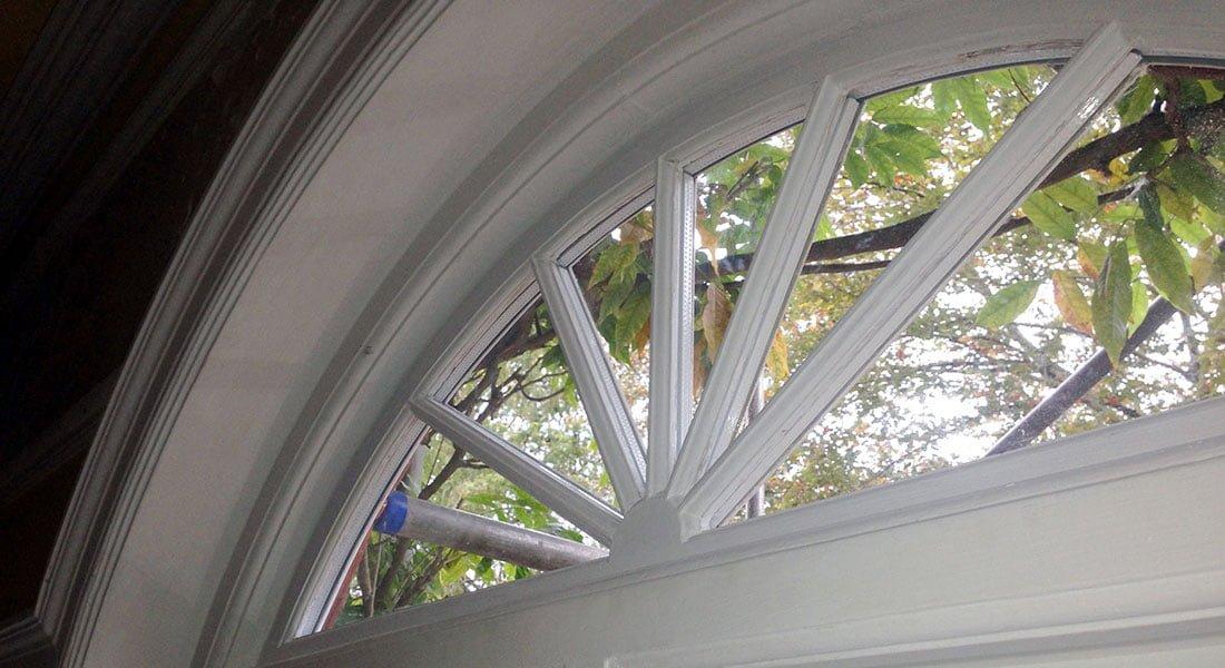 Double Glazed Wooden Sash Window.