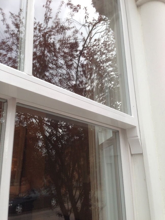 Double Glazed Replacement Timber Sash Frames.