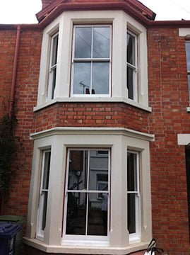 Reinstate double hung Double Glazed Timber Sash Window.