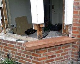Repair Bay Window.