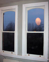 Timber Sash Window.