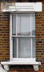 Timber Sash window - 3 over 3 - marginal glazing bars.