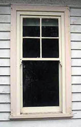 Timber Sash window 4 over 1. Queen Ann Style.