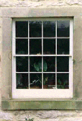 Georgian Double Hung Sliding Sash Window.