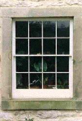 8 over 8 - Georgian Bar Sash Window