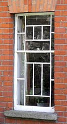 Double Hung Sliding Sash Window with marginal glazing pattern