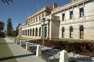 Heritage Sash Window. Repair - Parliament House Perth WA