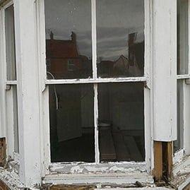 Heritage window rebuild