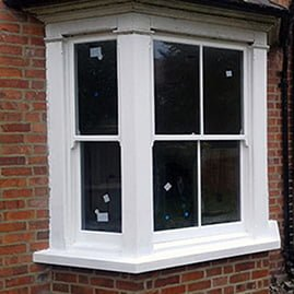Completed heritage timber window restoration.