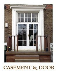 Timber casement window and door restoration