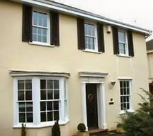 Double glazing for heritage wooden windows.