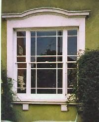 venetian timber sash window - marginal lights