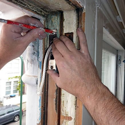 How To Replace Sash Cords Window Do It Yourself Diy