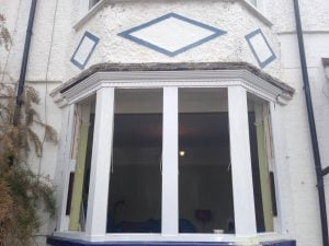 Wooden Bay Window Rotten Sill- Harrow North West London - Sash Window Specialist Berkshire & London