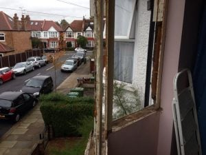 Rebuild Bay Window - Harrow North West London - Sash Window Specialist Berkshire & London