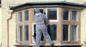 Draught Seal & repair wooden period window Recondition | Sash Window Specialist Midlands.