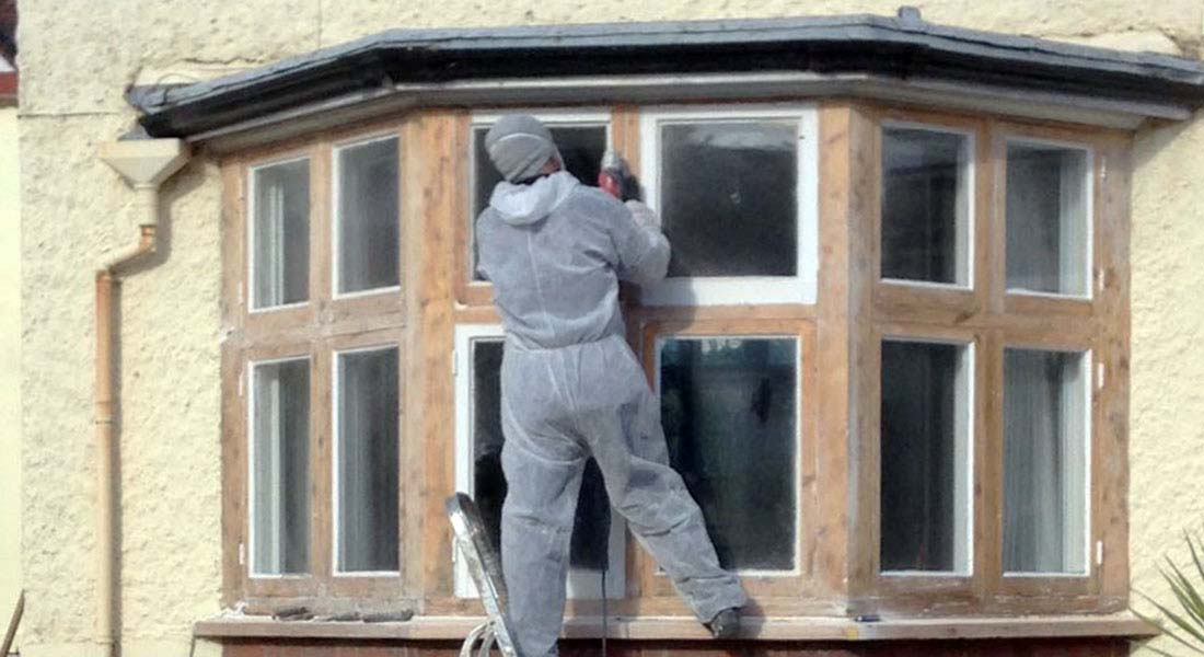 Draught Seal & repair wooden period window Recondition | Sash Window Specialist Midlands.
