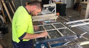Glazing Timber Sash Windows. Perth WA.