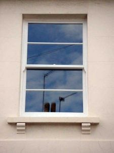 Replica double glazed sash windows Cotswolds