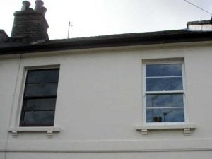 Replica double glazed sash windows Cotswolds