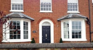 Georgian sash windows double glazed and repaired.