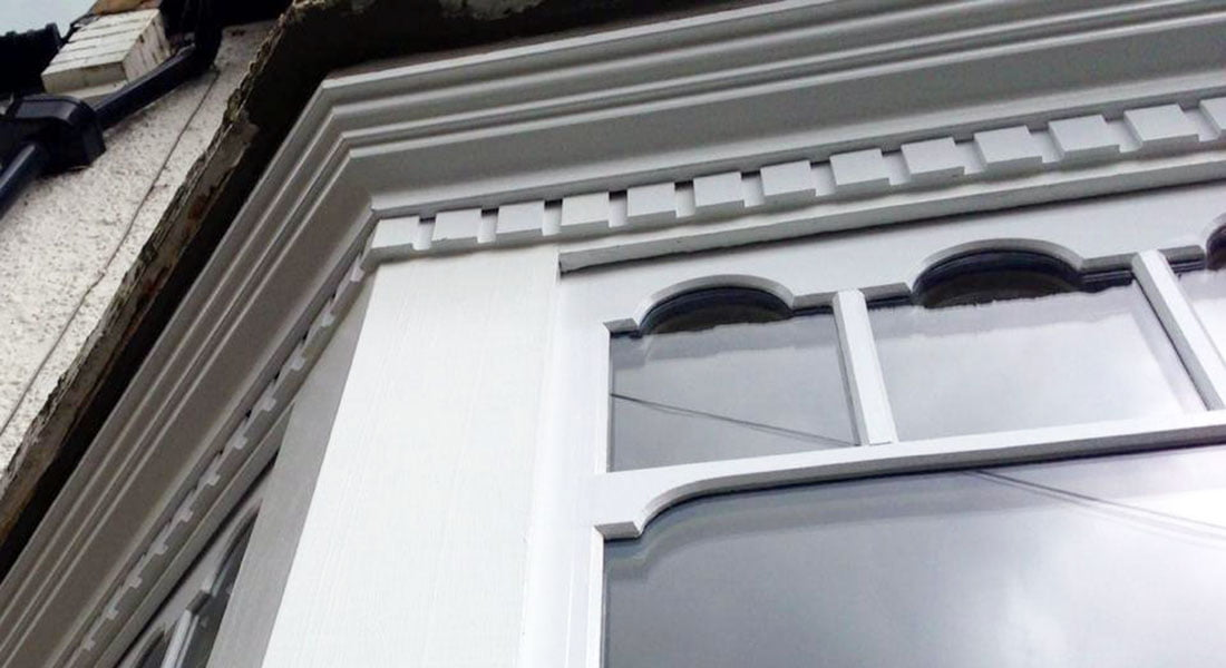 Reading Sash Window Specialist. Double Glazed Castellated Sash.