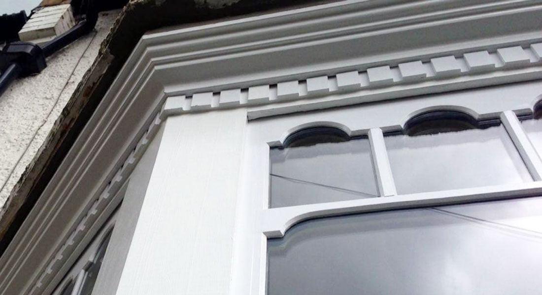 Double Glazed Castellated Sash | London UK