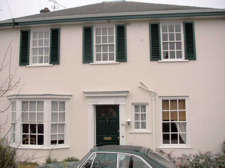 Leamington Spa Warwickshire UK | Double Glazed Sash Windows