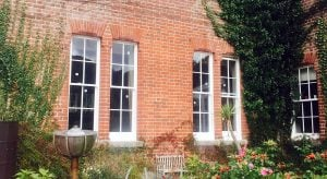 Sash Windows Winchester | Double Glazed low-E timber period windows.