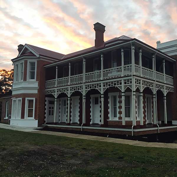 Australian heritage timber sash windows