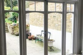 Period French Windows & Doors | Doublr Glazed Patio Door| Muswell Hill, London | Sash Window Specialist Berks, London & South
