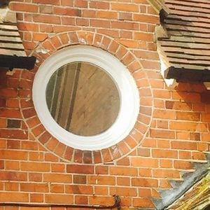 Bespoke Joinery | Round Window Double Glazed | Pangbourne, Berkshire UK