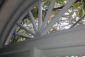 Double glazed period windows.