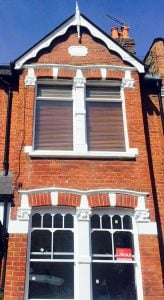 Reinstate Timber Sash Window | Castellated Pattern | Shepards Bush London