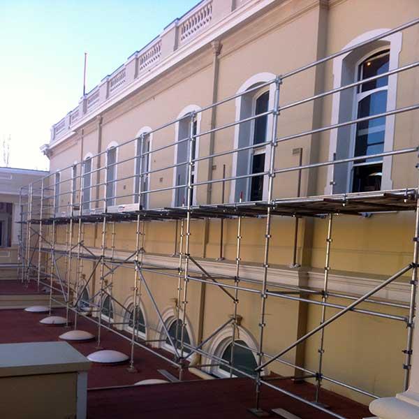 Public building window renovation | Parliament House Western Australia