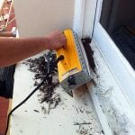 commercial window & door restoration | remove lead based paint