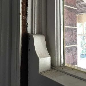 DIY sash window repair - replace beading