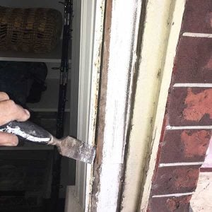 DIY sash window repair - remove pocket