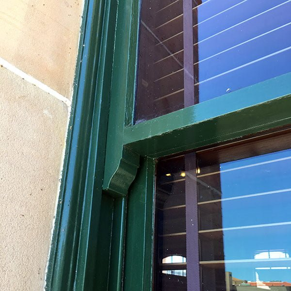 Laminated glass upgrade with Comfort Hush in a sash window