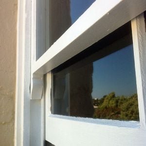 Upgrade Glass in period windows & doors. Laminated