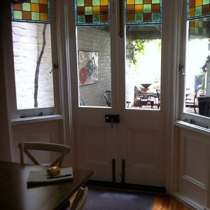 Acoustic laminate glass upgrade to period window sash