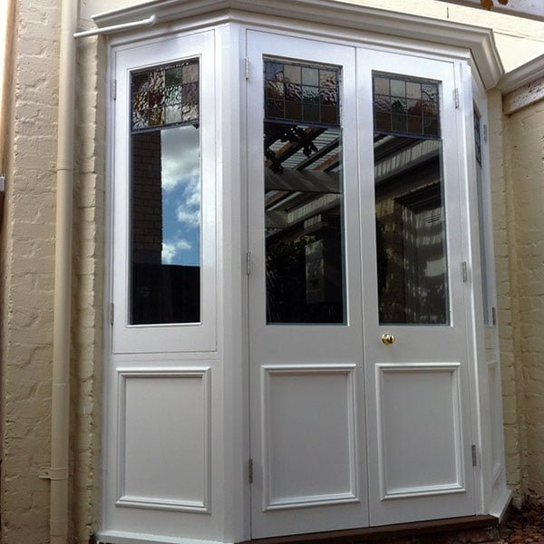 Period Door Repaired & Glazing Upgraded with Comfort Hush Laminated Glass