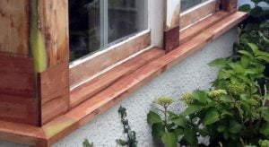 Replacement Timber Window Sill | Sash Window Specialist Midlands UK