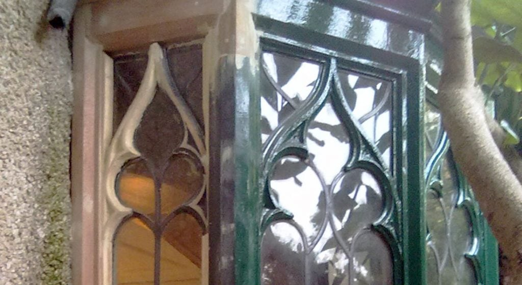 Repairing a Gothic Window - Heritage Window - Manchester Sash Window Specialist